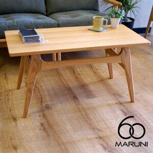 オークフレームコーヒーテーブル(Oak Frame Coffee Table) ナチュラル(Natural)・ブラック(Blac...