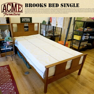 BROOKS BED(ブルックスベッド) SINGLE(シングルサイズ) ACME Furniture(アクメファニチャー) ...