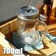 【Ball メイソンジャー】Rednek Handled Glass Mug 24oz(レッドネックハンドルグラスマグ 24オンス) 298824 /ボール Mason jar アメリカ Ball社 正規品 ガラス 保存ビン ドリンクボトル