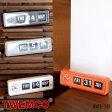 BQ-38 WALL&TABLE CLOCK(ウォール&テーブルクロック) パタパタクロック TWEMCO(トゥエンコ) カラー(ホワイト・ブラック・オレンジ・グレー) 送料無料