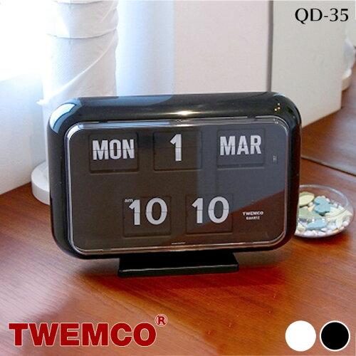 QD-35 WALL&TABLE CLOCK(ウォール&テーブルクロック) パタパタクロック TWEMCO(トゥエンコ) カラー...