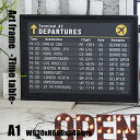 Art Frame Time table(アートフレーム タイムテーブル) A1 size 黒フレーム TR-4199(TT) ARTWORKSTUDIO(...
