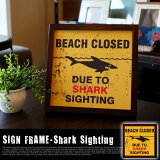 SIGNFRAME��SharkSighting�סʥ�����ե졼��֥��㡼�������ƥ��󥰡ס�ZSF51761