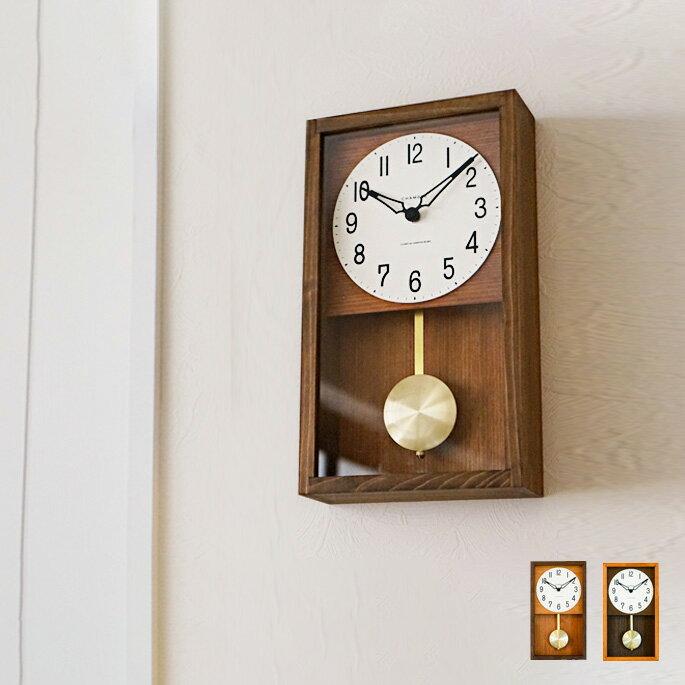 置き時計・掛け時計, 振り子時計  CHAMBRE HINOKI PENDULM CLOCK CH-033 INTERZERO