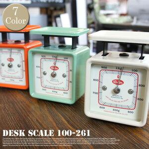 Desk scale 計量器 100-261DULTON (ダルトン) 全7色(Ivory/Red/Yellow/Sax/Mint green/Orang...