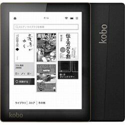 【送料無料】KOBO電子書籍リーダー kobo aura (ブラック) N514-KJ-BK-S-EP [N514KJBKSEP]