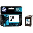 HP ヒューレット・パッカード C8765HJHP131 純正プリンターインク 131 黒[C8765HJHP131]