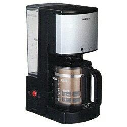 東芝 TOSHIBA コーヒーメーカー ブラック HCD-6MJ(K)[HCD6MJ]