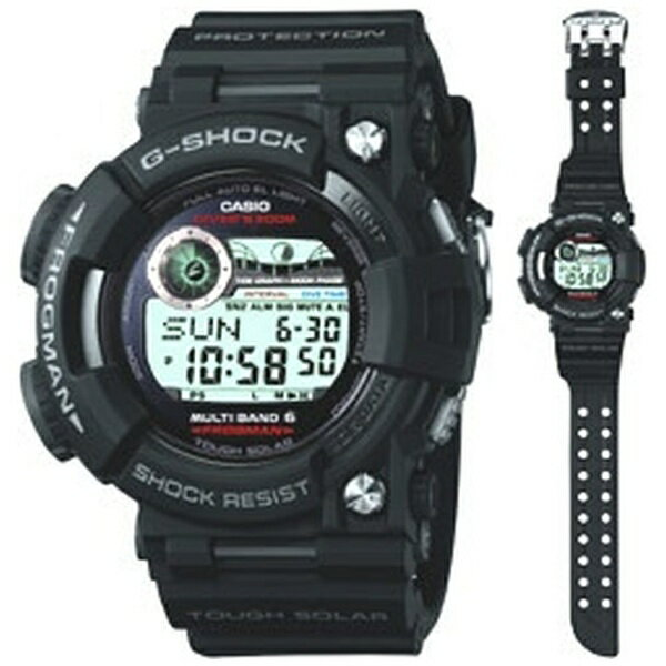 腕時計, メンズ腕時計  CASIO G-SHOCKG- Master of G FROGMANG MULTI BAND 6 GWF-1000-1JF