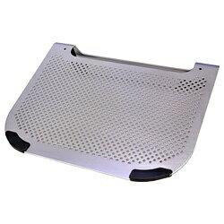 ミヨシ USBファン付きノートPC専用スタンド(シルバー) NSF-01/SL
