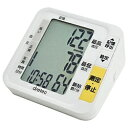 ドリテック dretec 血圧計 ホワイト BM-200WT [上腕(カフ)式][BM200]