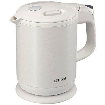【送料無料】 タイガー TIGER PCH-G080 電気ケトル わく子 パールホワイト [0.8L][PCHG080WP] [一人暮らし 単身 単身赴任 新生活 家電]