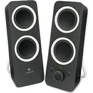 ロジクール PCスピーカー [φ3.5ミニプラグ] Logicool Multimedia Speakers Z200(ブラック) Z200BK[Z200BK]