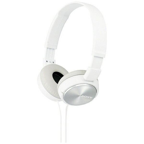 オーディオ, ヘッドホン・イヤホン  SONY ) MDR-ZX310 W 1.2mMDRZX310W