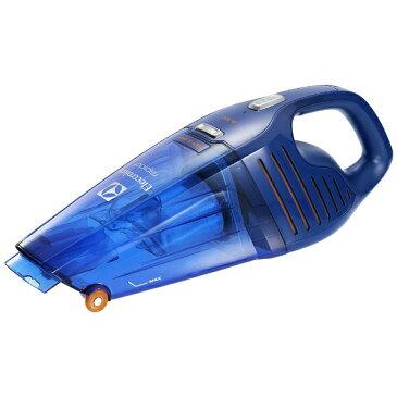エレクトロラックス Electrolux ZB5104WD ハンディクリーナー rapido Wet & Dry(ラピード ウェットアンドドライ) ディープブルー [紙パックレス式 /コードレス][ZB5104WD 掃除機]
