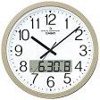 【送料無料】 カシオ 電波掛け時計 IC-4100J-9JF[IC4100J9JF]