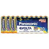 【あす楽対象】 パナソニック PANASONIC LR6EJ/20SW 【単3形】20本 アルカリ乾電池 「エボルタ」LR6EJ/20SW