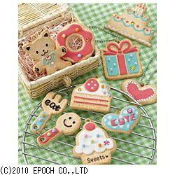 エポック社 ホイップる デコクッキーセット