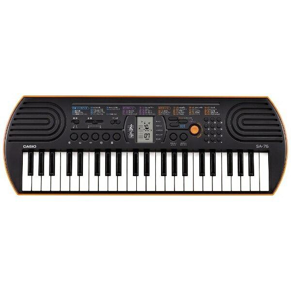 ピアノ・キーボード, キーボード・シンセサイザー  CASIO SA-76 44SA76