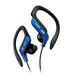 JVC [防滴仕様]耳かけ型イヤホン (ブルー) HA-EB75-A 1.2mコード[HAEB75A]