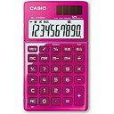 カシオ デザイン電卓 (10桁) SL-Z1000PK(ピンク)[SL...