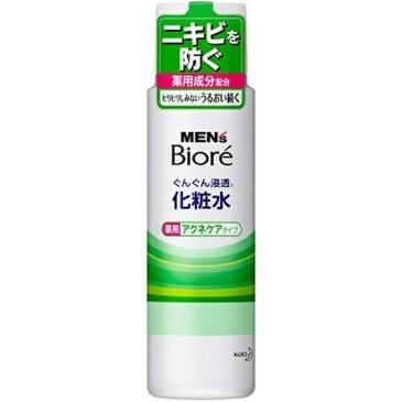 花王 Kao MEN's Biore(メンズビオレ) ぐんぐん浸透化粧水 薬用アクネケアタイプ(180ml)【rb_pcp】