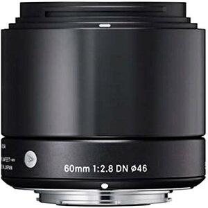 【送料無料】 シグマ 60mm F2.8 DN【ソニーEマウント】(ブラック)