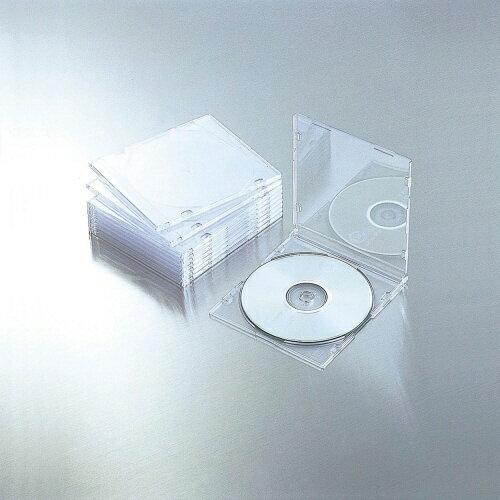 記録用メディアケース, CD・DVDケース  ELECOM CDDVDBlu-ray 110 CCD-JSCS10CR201603P