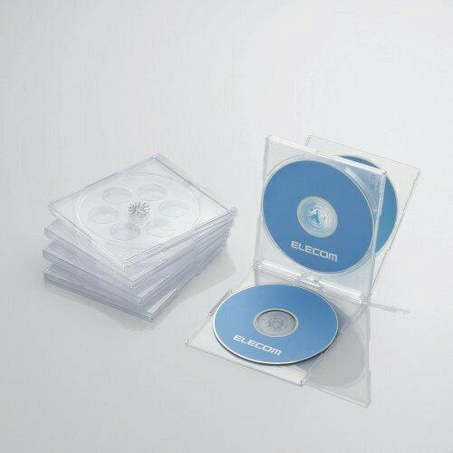 記録用メディアケース, CD・DVDケース  ELECOM CDDVDBlu-ray 45 CCD-JSCNQ5CRCCDJSCNQ5CR