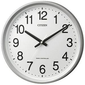 リズム時計 RHYTHM 電波掛け時計 「サークルポート」 4MYA24-019(白)[4MYA24019]