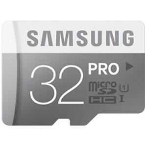 SAMSUNG 32GB・UHS Speed Class1(Class10)対応microSDHCカード[PROシリーズ](SDHC変換アダプ...