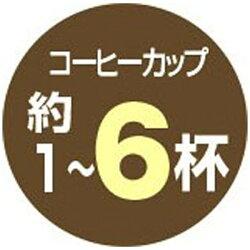 【送料無料】象印マホービンコーヒーメーカー「珈琲通」(6杯分)EC-AS60-XBステンレスブラック[ECAS60]