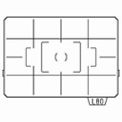 リコー(ペンタックス) K10D用フォーカシングスクリーン (AF分割マット) LL-80[LL80]