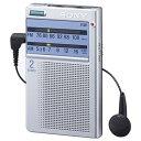 ソニー 【ワイドFM対応】FM/AM 携帯ラジオ ICF-T46[ICFT46SC]