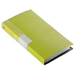 BUFFALO バッファロー CD/DVDファイル ブックタイプ 48枚収納 グリーン BSCD01F48GR[BSCD01F48GR]