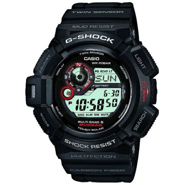 腕時計, メンズ腕時計  CASIO G-SHOCKG- Master of G MUDMAN MULTI BAND 6G 6 GW-9300-1JFGW93001JFpointrb