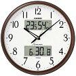 【送料無料】 カシオ CASIO 電波掛け時計 ITM-650J-5JF[ITM650J5JF]