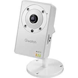【送料無料】 I-O DATA アイ・オー・データ 【スマホ/タブレット対応】ネットワークカメラ[無線&有線LAN・100万画素] Qwatch(クウォッチ) マイク&スピーカー搭載 TS-WLC2[TSWLC2]