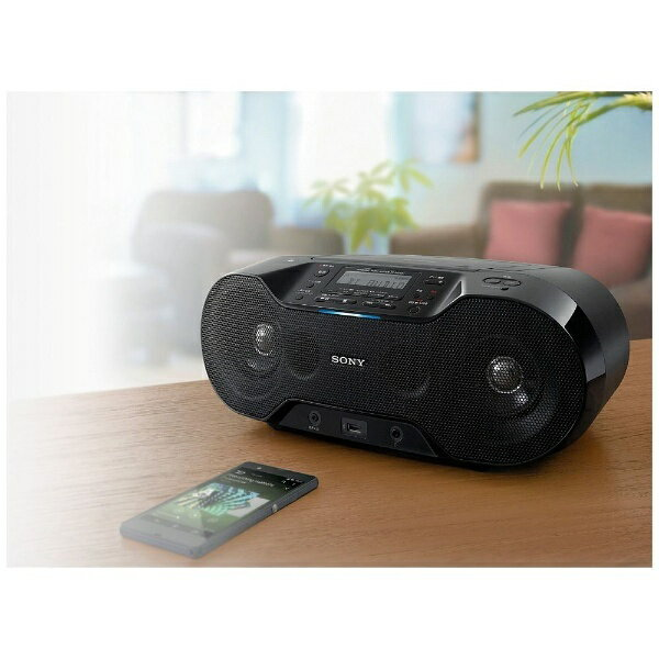 ソニー Bluetooth対応 CDラジオ(ラジオ+CD)  ZS-RS70BTC[ZSRS70BTC]