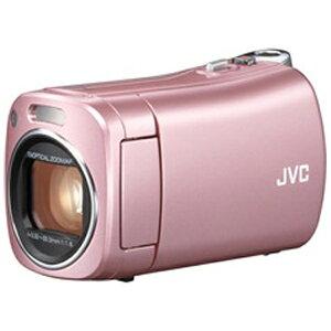 【送料無料】 JVC 【限定10台】SD対応32GBメモリー内蔵フルハイビジョンビデオカメラ (ピンク)...