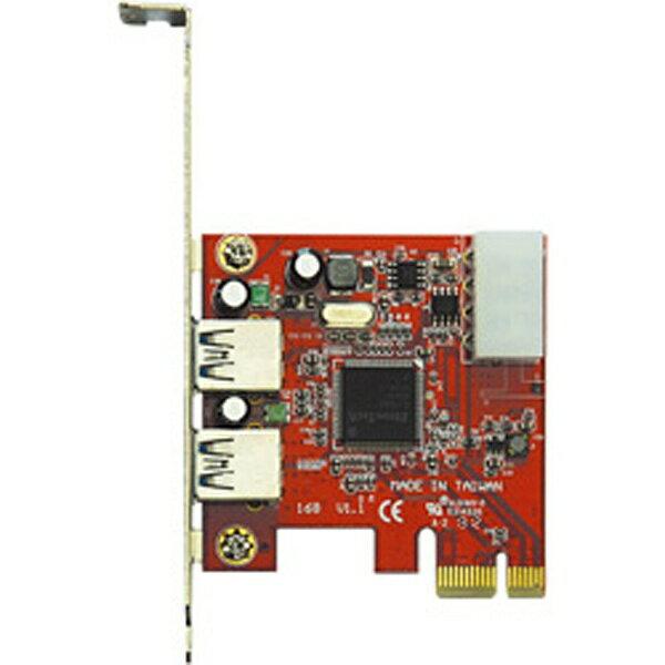 玄人志向 USB3.0E-P2-PCIE[USB3.0EP2PCIE]