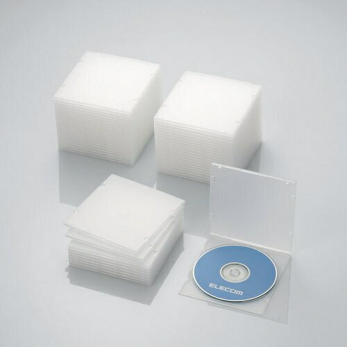 記録用メディアケース, CD・DVDケース  ELECOM CDDVDBlu-ray 150 CCD-JPCS50CRCCDJPCS50CRrbpcp