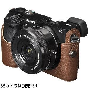 【送料無料】 ハクバ 本革ボディケース【SONY α6000専用】(ブラウン) DBC-A60…