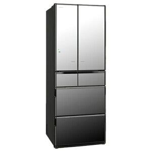 【標準設置費込み】 日立 《基本設置料金セット》 6ドア冷蔵庫 「真空チルド Xシリーズ」(565L...