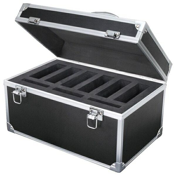 センチュリー Century Corporation 3.5/2.5インチHDD専用収納ケース [3.5×6台+2.5×3台収納] 裸族のハードなケース (ブラック) CRHC-002/BK[CRHC002BK]