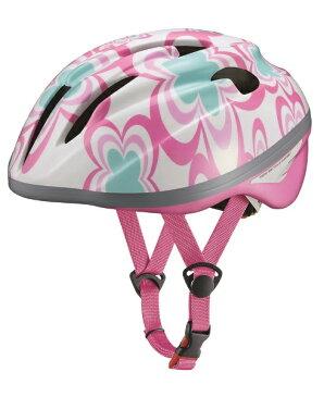 OGK 子供用ヘルメット ジェイ・クレス ツー(フラワーピンク/54-56cm)[JCULES2]