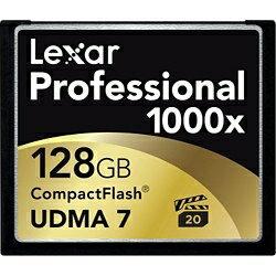 【送料無料】 レキサー 128GBコンパクトフラッシュ LCF128CTBJP1000