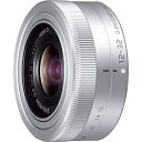 パナソニックPanasonic カメラレンズLUMIX G VARIO 12-32mm/F3.5-5.6 ASPH./MEGA O.I.S.【マイクロフォーサーズマウント】(シルバー)[HFS12032]