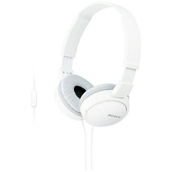 オーディオ, ヘッドホン・イヤホン  SONY MDR-ZX110AP 3.5mm MDRZX110APW