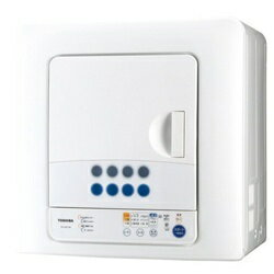 東芝 TOSHIBA ED-60C 衣類乾燥機 ピュアホワイト [乾燥容量6.0kg][ED60Cピュアホワイト]